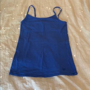 CLEARANCE!!! cobalt blue cami with built in bra